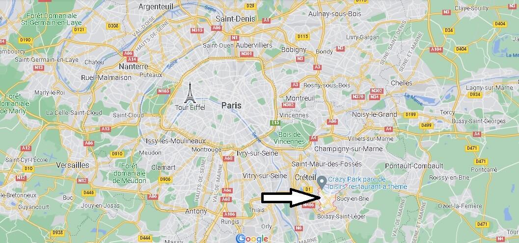 Où se trouve Bonneuil-sur-Marne