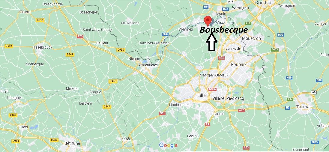 Où se trouve Bousbecque