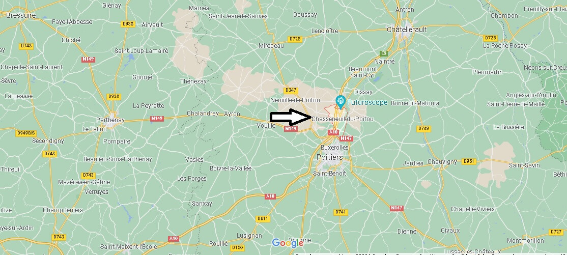 Où se trouve Chasseneuil-du-Poitou