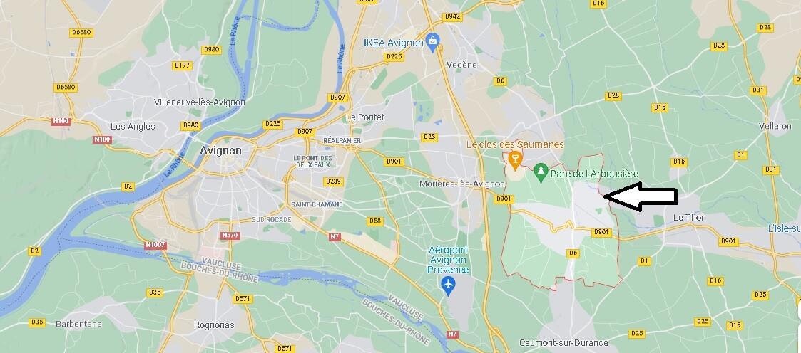 Où se trouve Châteauneuf-de-Gadagne