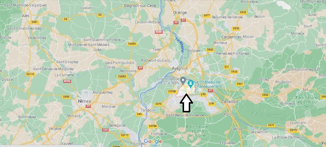 Où se trouve Châteaurenard
