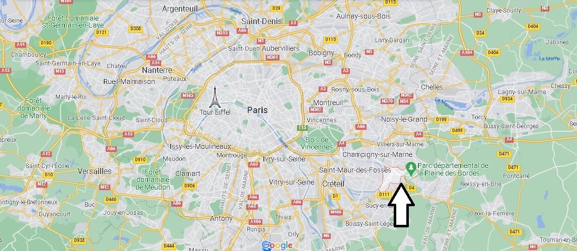 Où se trouve Chennevières-sur-Marne