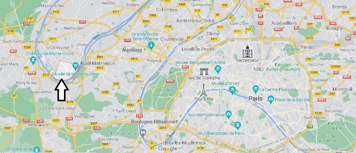 Où se trouve Croissy-sur-Seine