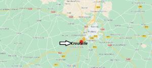Où se trouve Croutelle