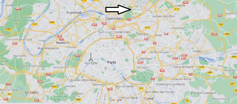 Où se trouve Dugny