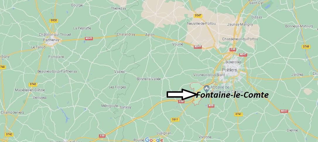 Où se trouve Fontaine-le-Comte