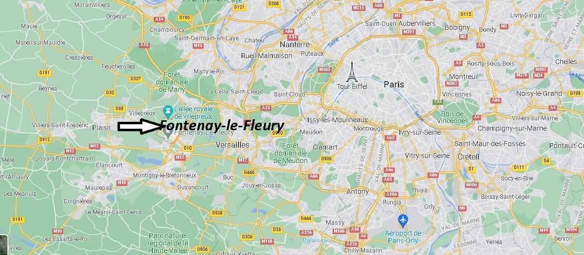 Où se trouve Fontenay-le-Fleury