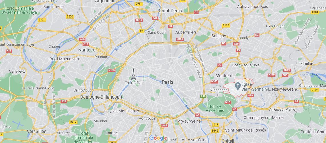 Où se trouve Fontenay-sous-Bois