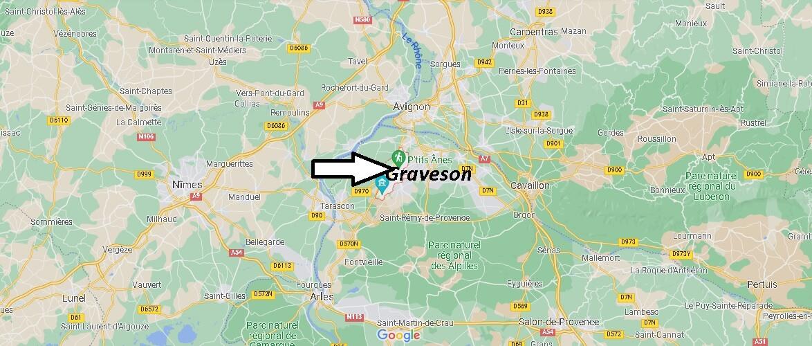 Où se trouve Graveson