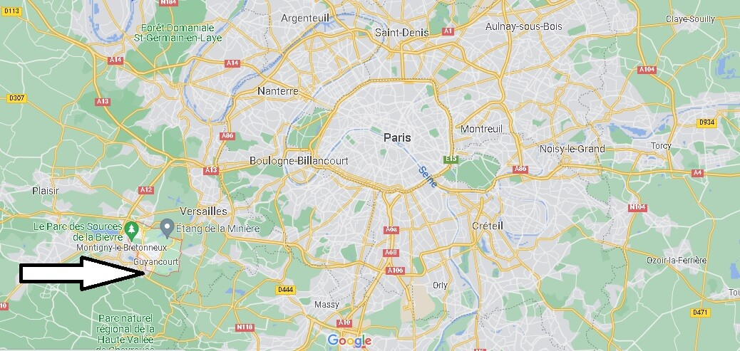 Où se trouve Guyancourt