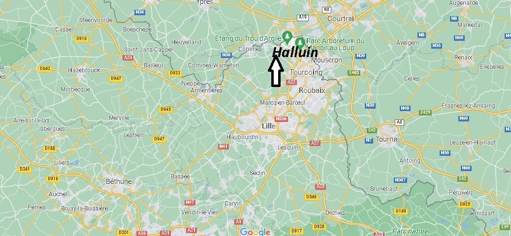 Où se trouve Halluin