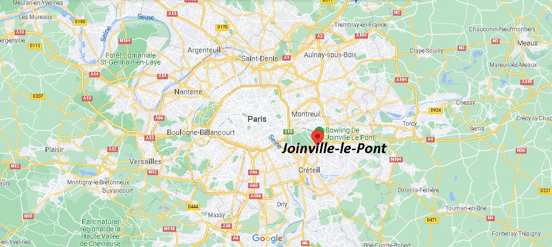 Où se trouve Joinville-le-Pont