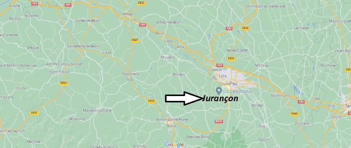 Où se trouve Jurançon