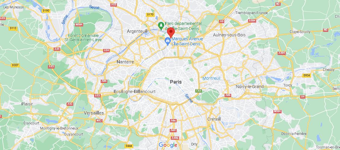 Où se trouve L Île-Saint-Denis