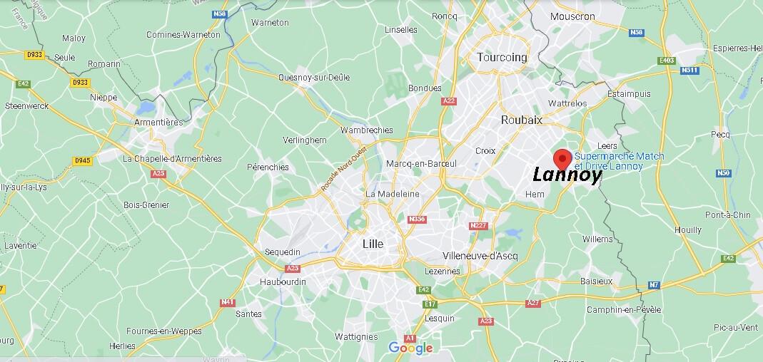Où se trouve Lannoy