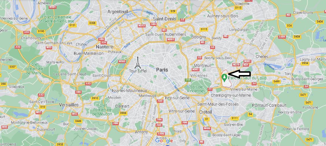 Où se trouve Le Perreux-sur-Marne