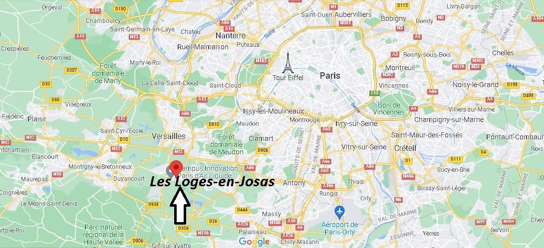 Où se trouve Les Loges-en-Josas