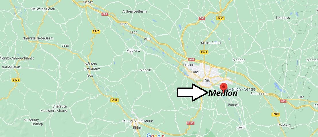 Où se trouve Meillon