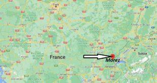 Où se trouve Morez