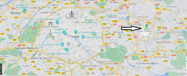 Où se trouve Neuilly-Plaisance