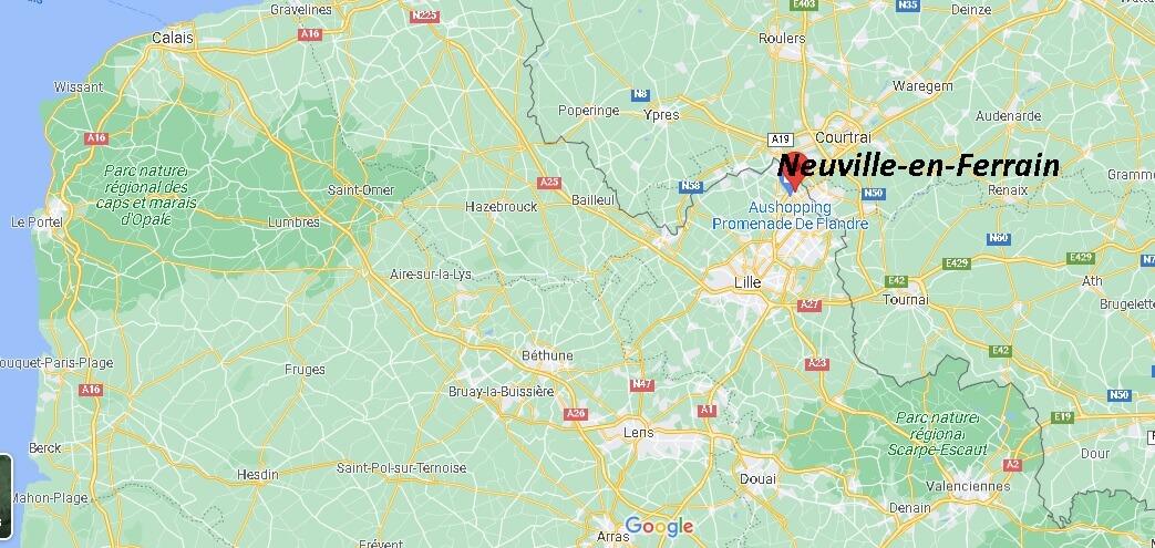 Où se trouve Neuville-en-Ferrain