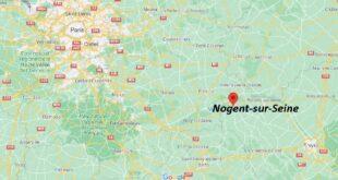 Où se trouve Nogent-sur-Seine