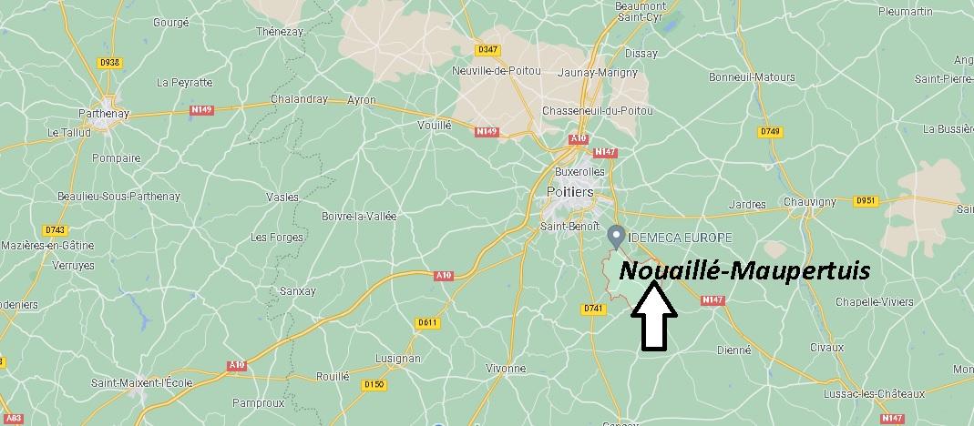 Où se trouve Nouaillé-Maupertuis