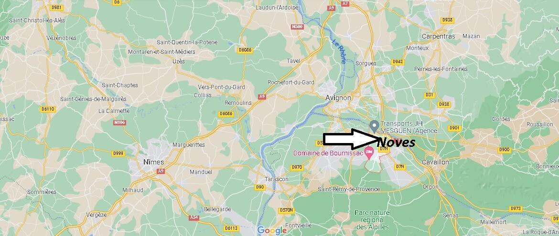 Où se trouve Noves