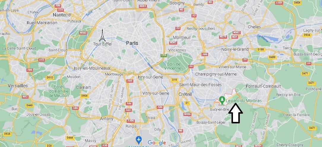 Où se trouve Ormesson-sur-Marne