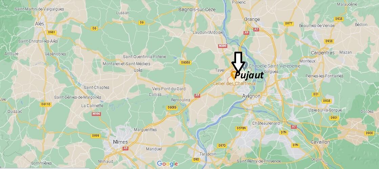 Où se trouve Pujaut