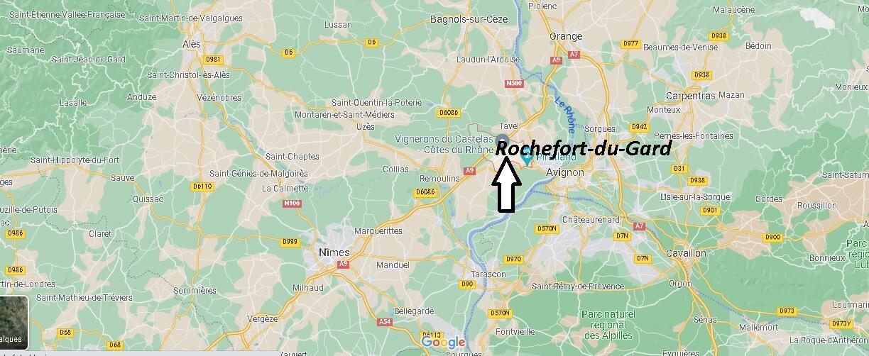 Où se trouve Rochefort-du-Gard