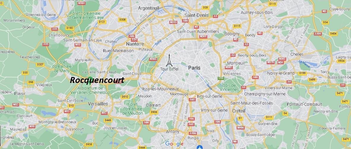 Où se trouve Rocquencourt