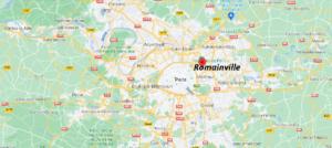 Où se trouve Romainville