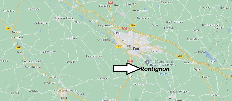 Où se trouve Rontignon