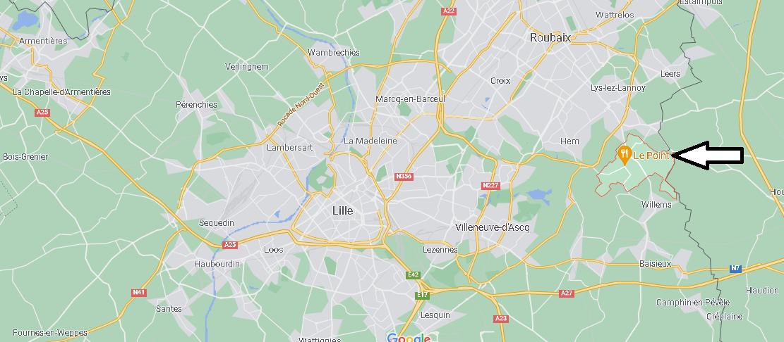Où se trouve Sailly-lez-Lannoy