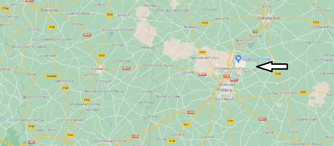 Où se trouve Saint-Georges-lès-Baillargeaux