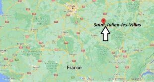 Où se trouve Saint-Julien-les-Villas