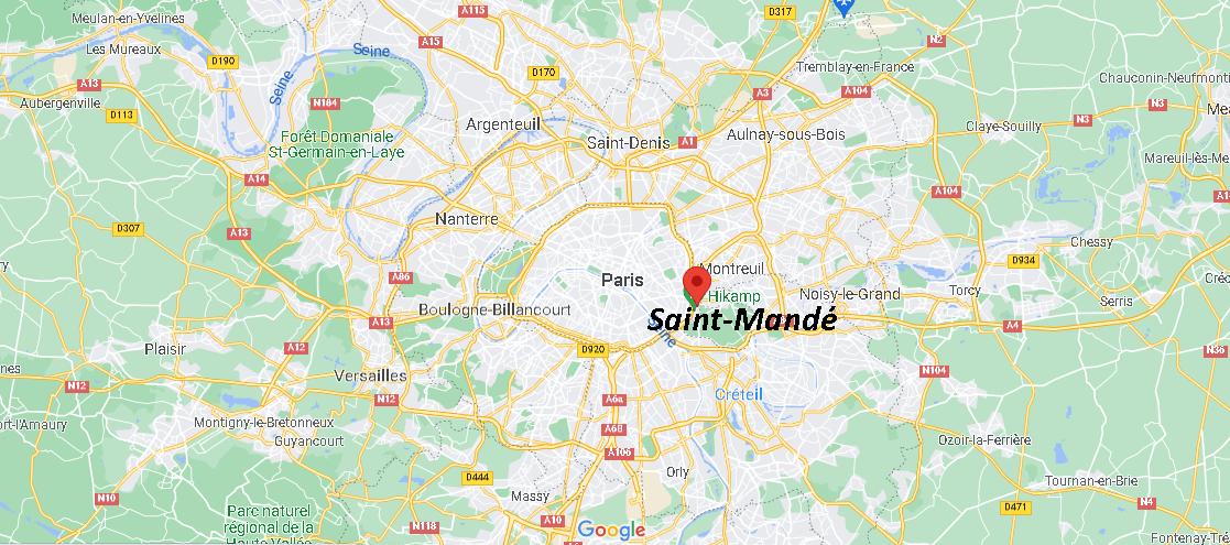 Où se trouve Saint-Mandé