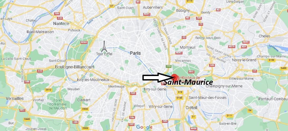 Où se trouve Saint-Maurice