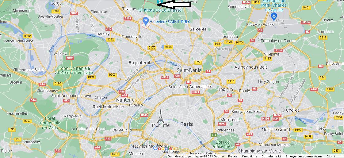 Où se trouve Saint-Prix