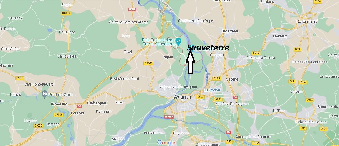 Où se trouve Sauveterre