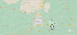 Où se trouve Sèvres-Anxaumont