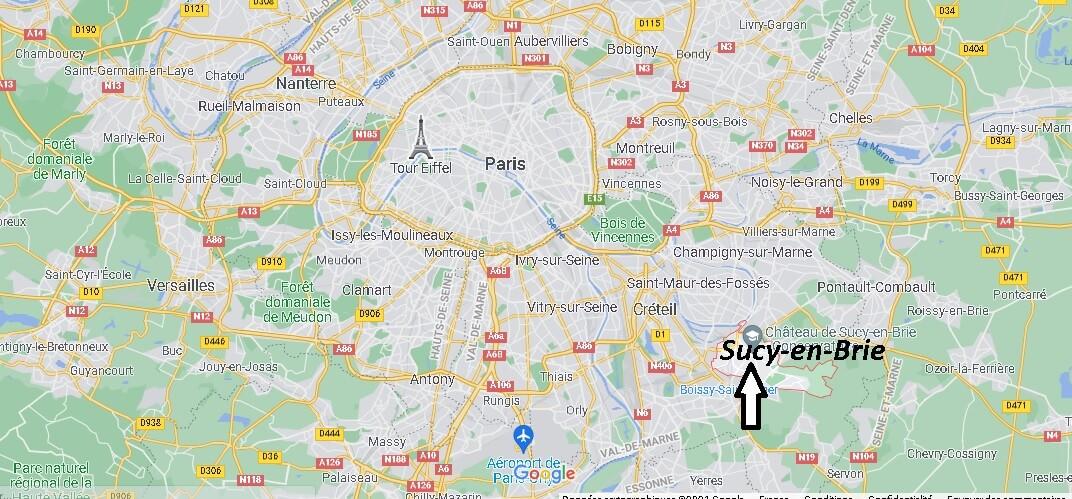 Où se trouve Sucy-en-Brie
