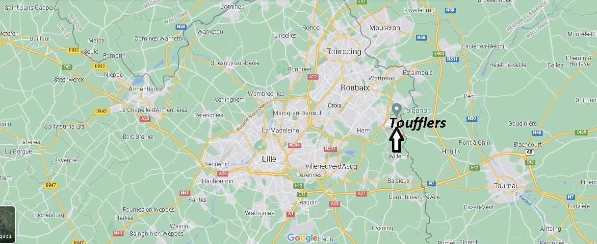 Où se trouve Toufflers
