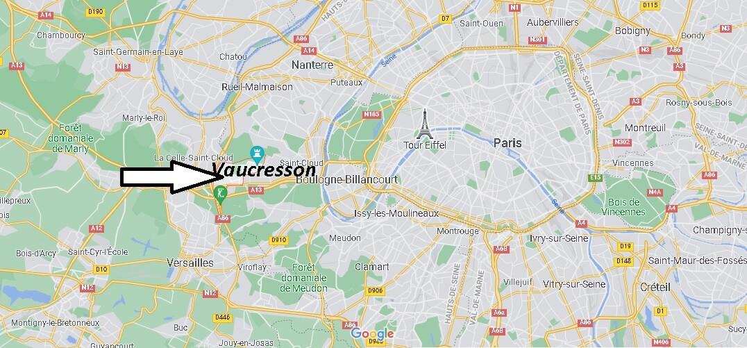 Où se trouve Vaucresson