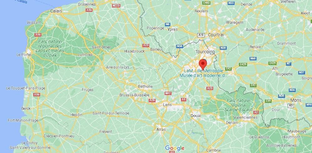 Où se trouve Villeneuve-d-Ascq