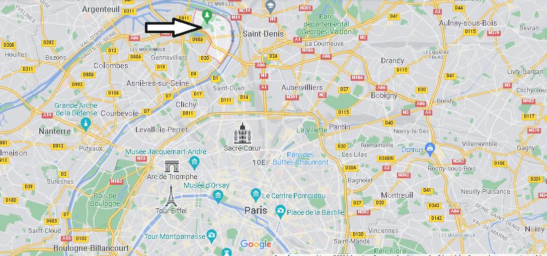 Où se trouve Villeneuve-la-Garenne