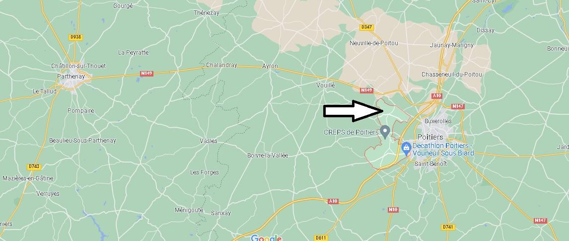 Où se trouve Vouneuil-sous-Biard